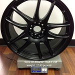 Work CR-Kiwami:  18x8.5  +38