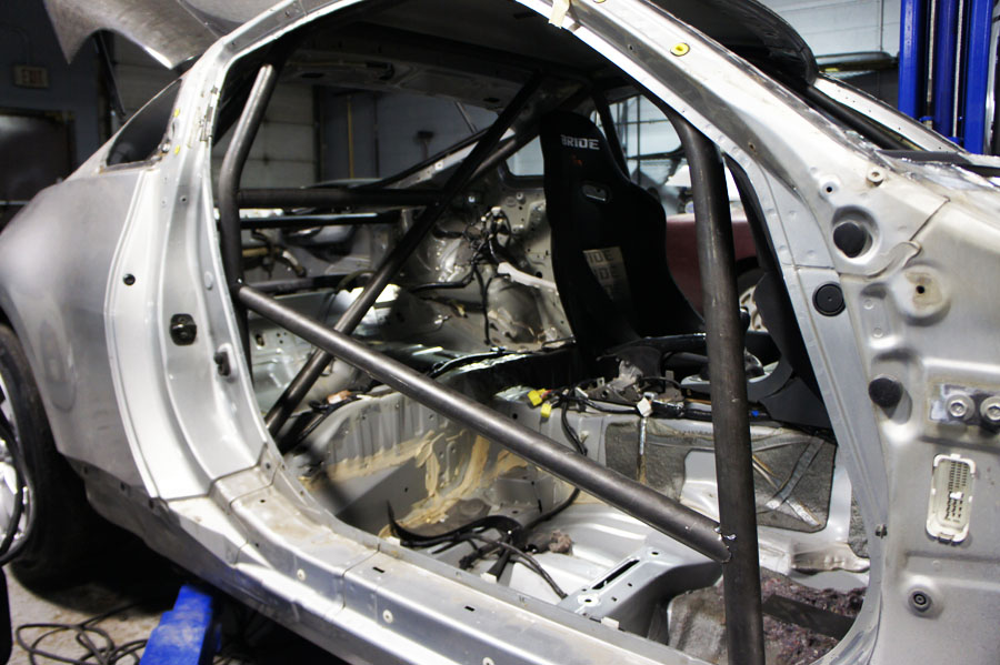 Come play in my new jungle gym.'Roll Cage' - G35Driver ... |Roll Cages G35 Coupe